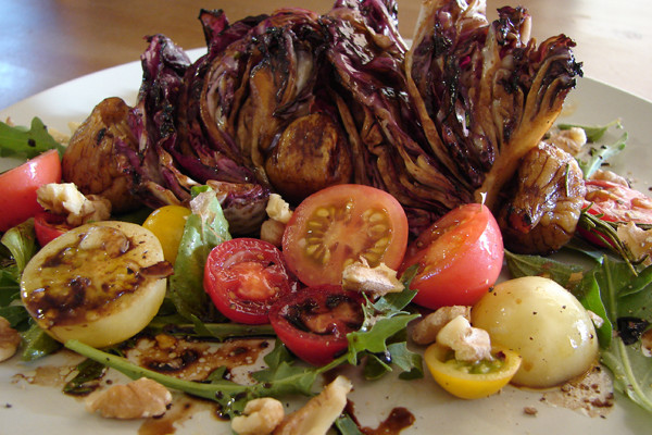 Grilled Radicchio & Figs